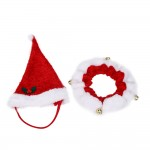 X-Mas Santa hat and Bell scarf