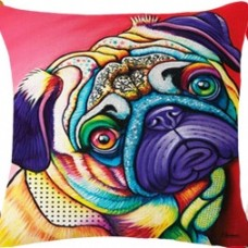 Cushion Pug Paint