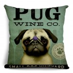 Cushion Wine Co Pug