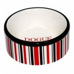 Bowl- Red and Black Stripe