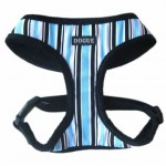 Dogue Harness- Blue Stripes