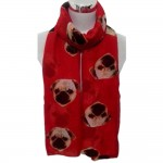 Pug Wrap- Red