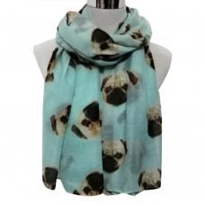 Pug Wrap-Sky Blue