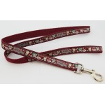 Bob's Burgundy Lead-Double Lead-Seat Belt