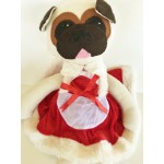 Pug Teddy Mary X-Mas